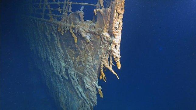 Titanic hull